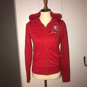 PINK by Victoria's Secret 49er zip up hoodie